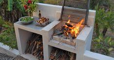 Backyard Patio Designs, Backyard Bbq, Simple Outdoor Kitchen, Wood Pallet Recycling, Veggie Fries, Outdoor Living, Outdoor Decor, Outdoor Cooking, Barbecue