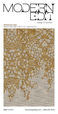 Use our interactive online custom carpet design tool, Foundry, to create custom hospitality carpet designs from Shaw Hospitality Group Carpet Decor, Wall Carpet, Rugs On Carpet, Carpets, Textured Carpet, Patterned Carpet, Gold Leaf Art, Hallway Carpet Runners, Painted Rug