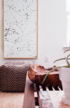 I've said it before and I'll say it again: Finding affordable art that you actually like is one of the hardest parts of furnishing a home