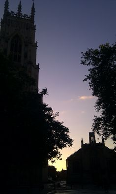 The view from the corner of Duncombe Place/Petergate at 06.40...peaceful