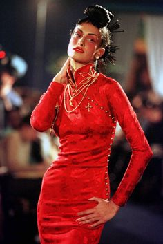 John Galliano (British, born Gibraltar, 1960) for House of Dior (French, founded 1947), fall/winter 1997-98.