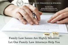 Family Law Issues Are Highly Sensitive Let Our Family Law Attorneys Help You