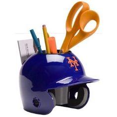 New York Mets Baseball Helmet Desk Caddy