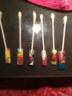 Some nail art designs