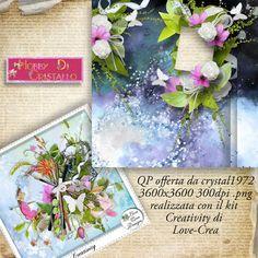Hobby di Cristallo blog: Creativity di Love-Crea + QP freebie