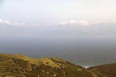 Ausblick auf Marokko vom  Felsen von Gibraltar
