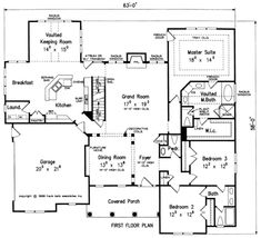 Frank Betz has an available floor plan entitled SPRING HILL House Floor Plan.  Take a look to see if it is the right fit for your new home!