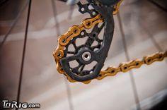 Custom Carbon Fiber Jockey Wheels - Fair Wheel Bikes