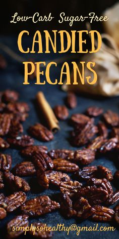 This recipe for Low-Carb Candied Pecans brings pecans to a new level. They are a flash to make and taste so good, it's hard to believe they work in low-carb, ketogenic, Atkins, diabetic and Banting diets.