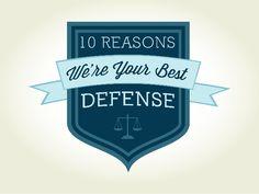 Top 10 Best Criminal Defense | Minneapolis DWI Lawyers | Keyser Law Blog http://www.keyserdefense.com/blog/entry/ten-reasons-we-are-your-best-defense