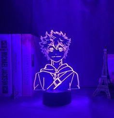 Anime Haikyuu Shoyo Hinata 3D LED Table Lamp