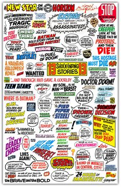 Fonts for comic book lettering