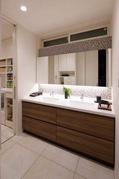 Bad Inspiration, Bathroom Inspiration, Wc Public, Washbasin Design, My Ideal Home, Trendy Furniture, Accent Wall Bedroom, Toilet Design, Bathroom Design Luxury