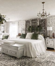 shabby chic do it yourself . do it yourself shabby chic decor . do it yourself shabby chic furniture . do it yourself home decor bedroom shabby chic Vintage Bedroom Decor, Home Decor Bedroom, Vintage Bedrooms, Shabby Chic Bedrooms, Romantic Bedrooms, Diy Bedroom, Brick Wall Bedroom, Modern Bedroom, Master Bedroom Decorating Ideas