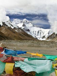 She's a beast, but she's a beauty. Mount Everest.