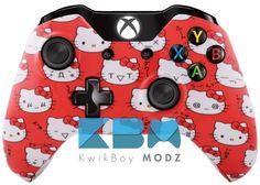 Custom Hello Kitty Xbox One Controller #kwikboymodz #customcontroller #hellokitty #xboxone #xboxonecontroller #customxboxonecontroller