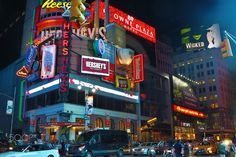 neon signs - neon signs in NYC Times Square, Nyc, Neon Signs, Travel, Viajes, Destinations, Traveling, Trips, New York
