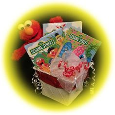 This three book Sesame Street gift basket will sure provide the ultimate personalized learning experience. #personalizedbooks #personalizedchildrensbooks #kidsbooks #personalizedgifts #giftbaskets | See more about gift baskets, book baskets and sesame streets.