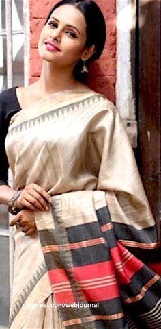 Khadi handloom silk from Shatika