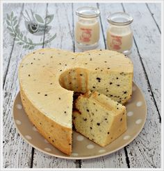Soy Milk Almond Chiffon Cake | Anncoo Journal