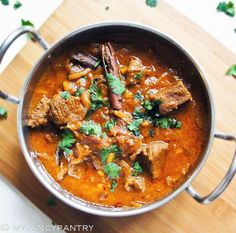 Mild Curried Lamb Casserole With Almonds Recipe — Dishmaps
