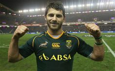Willie Le Roux celebrates South Africa's victory over Scotland Just A Game, Sports Stars, My Crush, Rugby, Victorious, Scotland, Autumn, Celebrities, Sexy