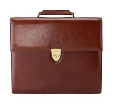 Aspinal of London Bridle Leather Briefcase