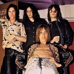 The Stooges/ In the late Sixties and early Seventies, the Stooges helped invent punk rock. The band — singer Iggy Stooge (later Pop) guitarist Ron Asheton), his drummer brother Scott Asheton and bassist Dave Alexander — formed in Detroit, Michigan, and debuted in Ann Arbor on Halloween 1967.     #punk