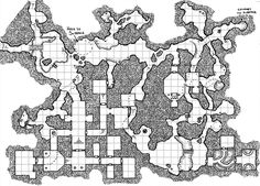Dungeon map by Dyson Logos at rpgcharacters.wordpress.com