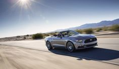 2015 Ford Mustang GT On the Road