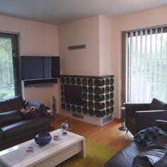 ▪️ Ενεργειακό τζάκι Spartherm (Germany), με vintage κεραμικούς θερμοσυλλέκτες  🔰 Τοποθέτηση ενεργειακού τζακιού Home, Table, Furniture, Conference Room Table
