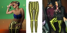 Rihanna and Nicki Minaj wearing... Wolford leggings? Are those really Wolford leggings?