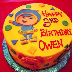 Team Umizoomi birthday cake! | Hadleighs birthday | Pinterest