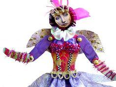 TUTORIAL Hinged PAPER Art Dolls Workshop Approx. by michelledolls
