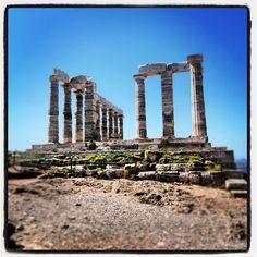Poseidon's Temple ( Ναός του Ποσειδώνα) @Cape Sounio Greece