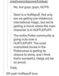 Harry Potter/Maze Runner Crossover - NEWT'S A HUFFLEPUFF YASS I'M A HUFFLEPUFF TOO GO HUFFLEPUFF'S WE GOT NEWT!!!!!!!!!