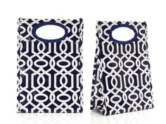 Stylish reusable lunch bags
