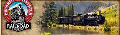 Wilderness Access | Durango & Silverton Narrow Gauge Railroad Train Wilderness Access: Flagging the train by waiving your hands horizontally across your knees.