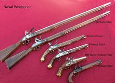 american revolutionary war weapons