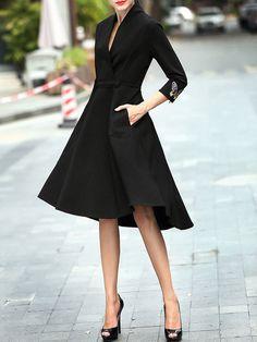 Fashion Embroidered Midi Dress by Nitta. Dress sizing runs small!!