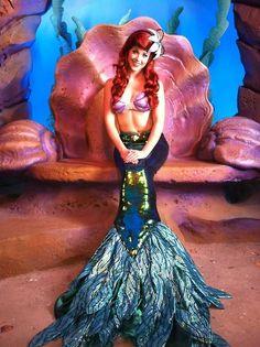 Ariel Disney World Ariel Disney World, Disney World Princess, Walt Disney World Orlando, Disney Girls, Disney Cosplay, Ariel Cosplay, Ariels Grotto, Disneyland Face Characters, Disney Characters