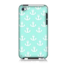 Anchor Hard Case Cover Skin for Ipod Touch 4 4th Generation