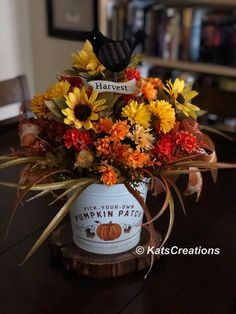 Looking to make something to give as a gift or add to your home's Fall decor? This homemade centerpiece is perfect. Come watch how easy it is to make by joining my paid Private Group.