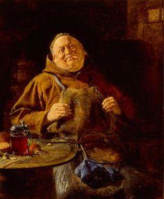 Grutzner? Reddit Has Gone Crazy For Pictures Of Monks Looking At Beer