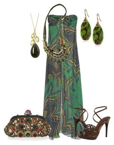 Maxidresses by outfits-de-moda2 on Polyvore featuring moda, Melissa Odabash, Burberry, Dolce&Gabbana, Ben-Amun and Devon Leigh