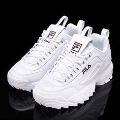 Fila Disruptor II 2 Blanco (FS1HTZ3071X) para Mujer Moda Zapatos Tenis  Deportivas Tenis Fila 311f446b099