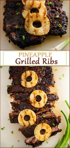 Easy Sweet and Spicy Pineapple Grilled Ribs from www.SeasonedSprinkles.com #ad #GetGrillingAmerica #CollectiveBias