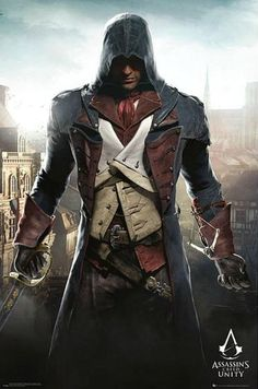 Assassin's Creed Unity Poster Arno Dorian in Paris Hier bei www. Rogue Assassin, Assassins Creed Series, Assassins Creed Unity, Final Fantasy, World Of Warcraft, Assasins Cred, Assassin's Creed Black, Assassin's Creed Wallpaper, Arno Dorian