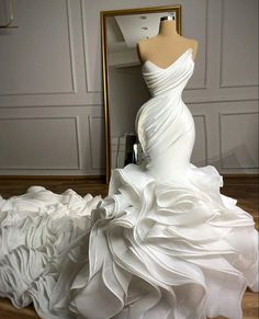 Wedding Dress Train, Sweetheart Wedding Dress, Luxury Wedding Dress, Wedding Dress Sleeves, Cheap Wedding Dress, Dream Wedding Dresses, Bridal Dresses, Bridesmaid Dresses, Mermaid Wedding