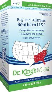 King Bio Natural Medicine Homeopathic Remedies for Regional Allergies, Southern U.S, 2 Fluid Ounce: Health & Personal Care